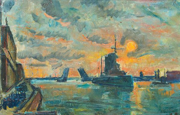 Петроград. 1917 год - ноябрь.