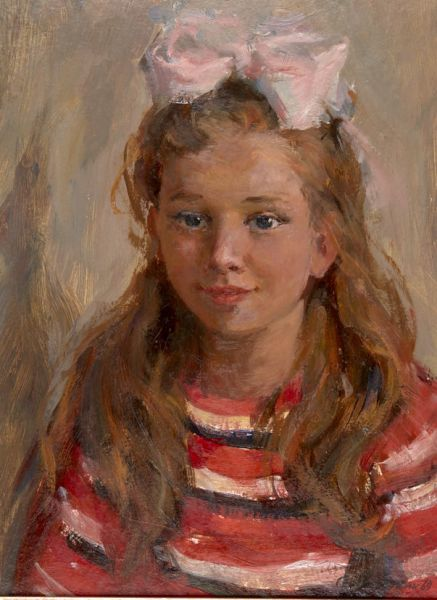 Портрет девочки.