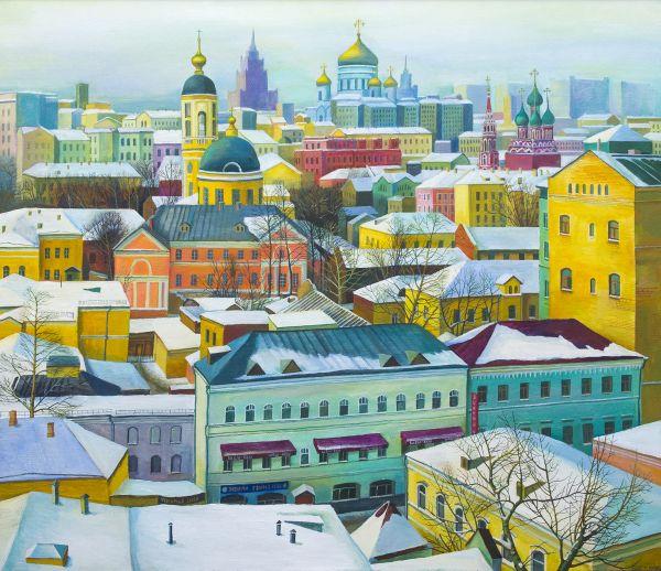 Зима в Замоскворечье.