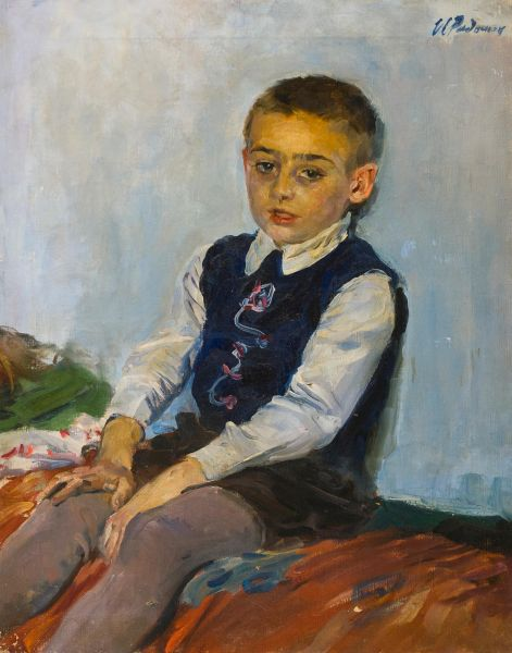 Портрет Сережи.