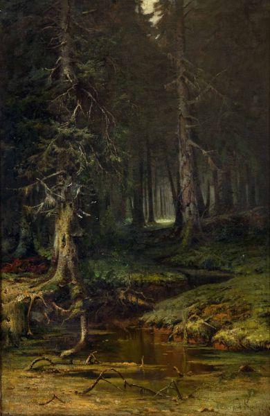 Девственный лес.
