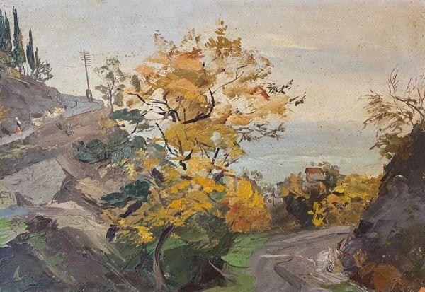 Осенний день в Крыму.