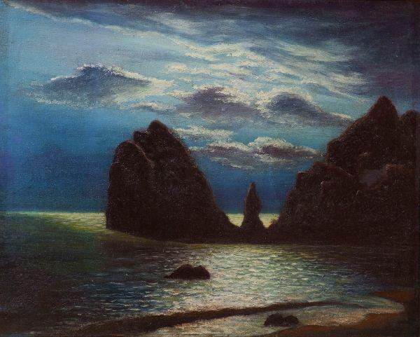 Море. Скалы.