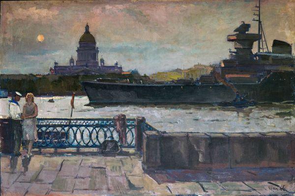 Ленинград. Белые ночи.