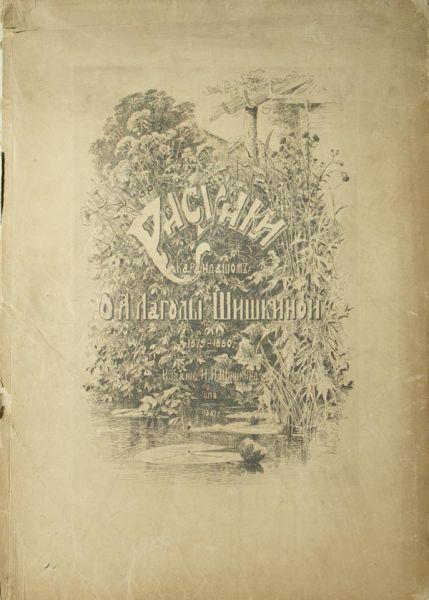 Рисунки карандашом О.А.Лагоды-Шишкиной. 1879-1880 г.г.