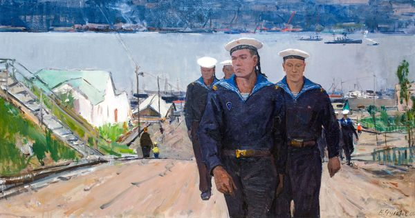 Морской патруль. Мурманский порт.