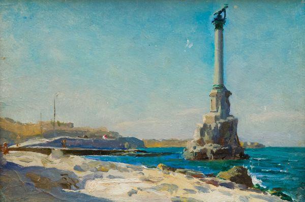 Севастополь. Памятник затопленным кораблям.