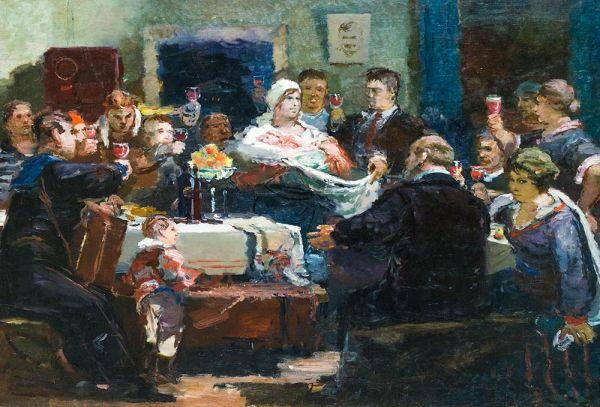 Эскиз картины