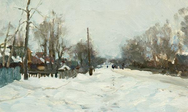 Деревня Мазилово.