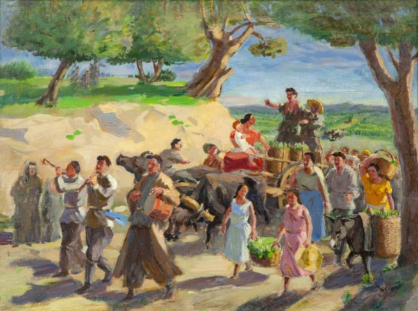 Праздник вина в Кахетии.