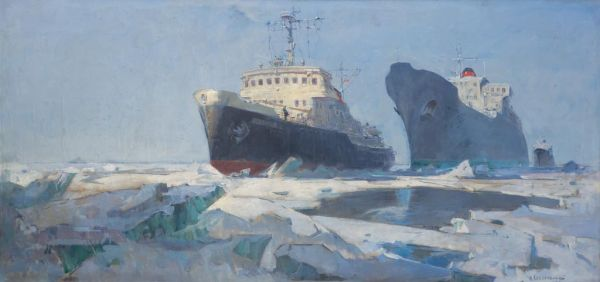 Северный морской путь.