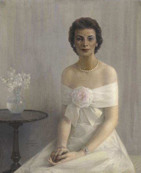 Портрет миссис Чарльз Бэбкок.