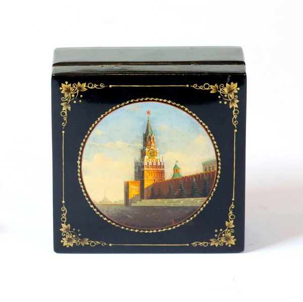 Шкатулка «Кремль. Спасская башня».
