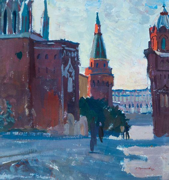 Кремлевские башни.