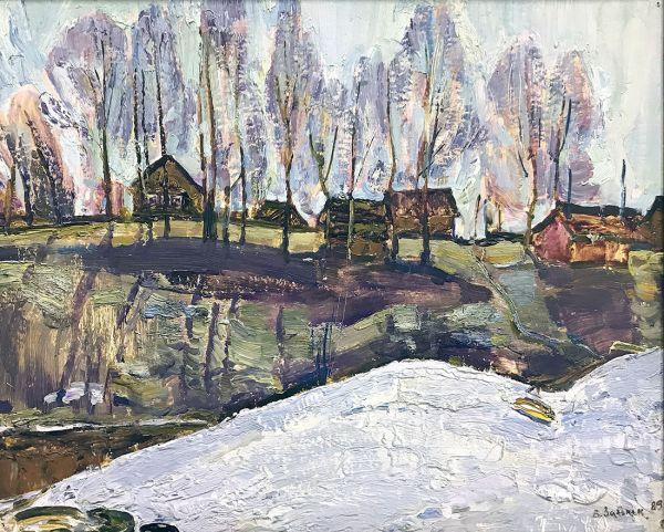 Деревня Велье.