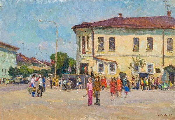 Торговая площадь в Переславле.