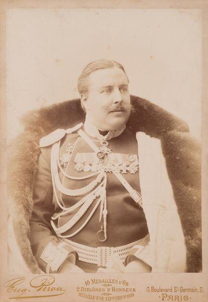 Князь Алексей Николаевич Орлов в мундире флигель-адъютанта.
