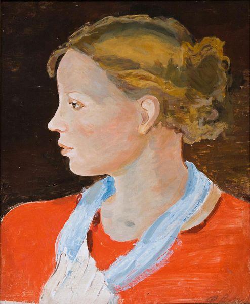 Портрет жены художника.