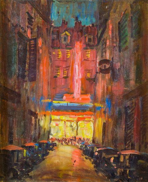 Париж. Улица Виавани.