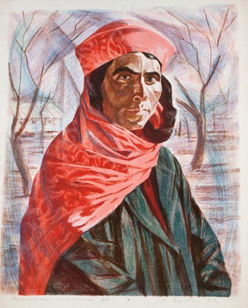 Туркменская колхозница.