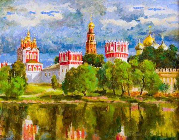 Новодевичий Богородице-Смоленский монастырь.