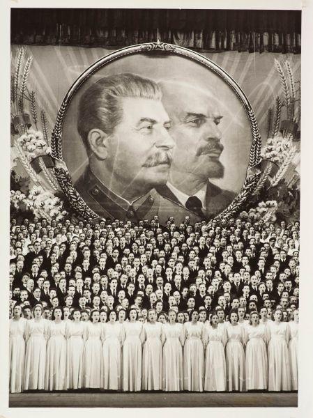 Большой театр «Песня о Сталине». Авторский отпечаток.