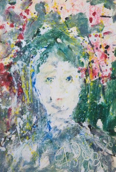Зеленый портрет.