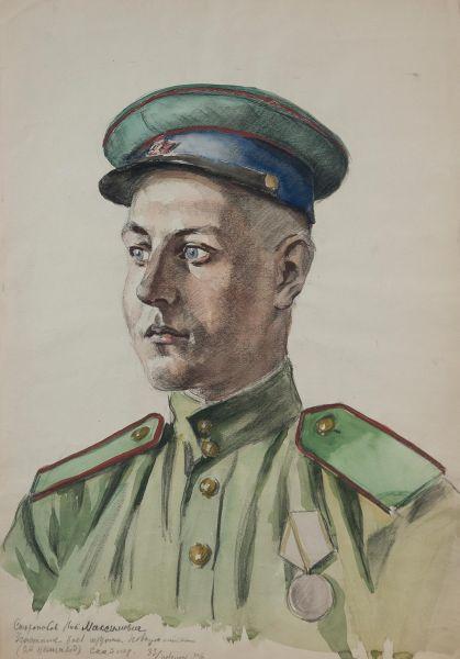 Сторожков Н.М. Участник боев за Новороссийск, снайпер.