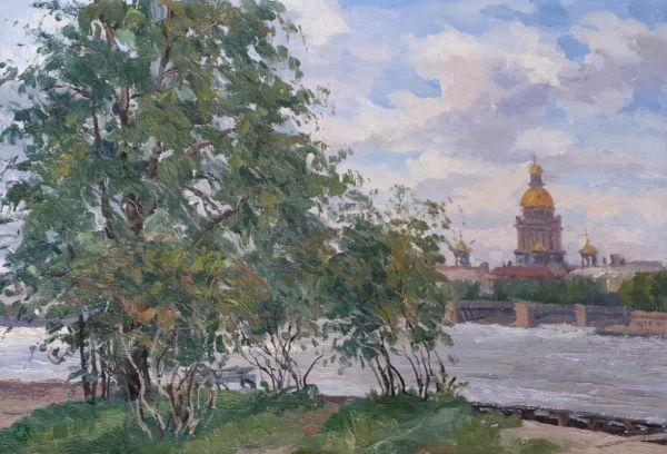 Санкт-Петербург. Исаакиевский собор.
