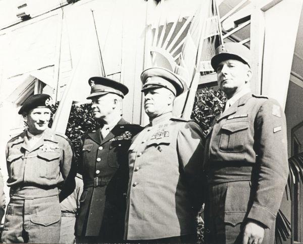 Союзники. Берлин, май 1945 г.