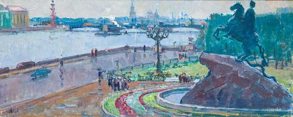 Ленинград. После дождя.