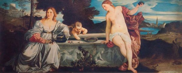 Копия с работы Тициана.