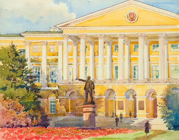 Ленинград. Смольный.