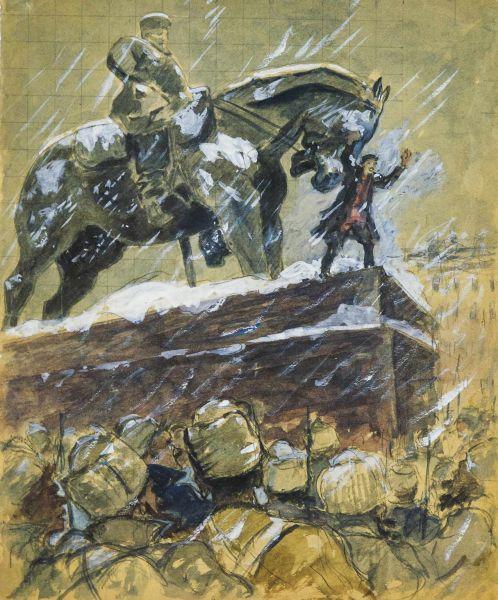 Иллюстрация к роману А.Н. Толстого