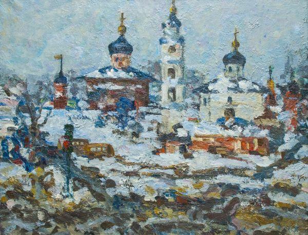 Кремль в Волоколамске.