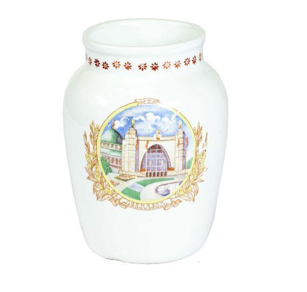 ВСХВ. Павильон «Машиностроение». Декоративная ваза.