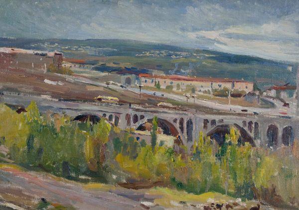 Ереван. Мост.