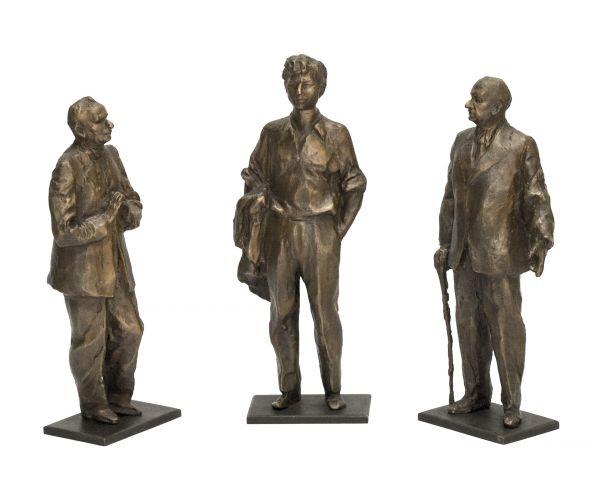 Три драматурга. В.С. Розов, А.В. Вампилов, А.М. Володин.