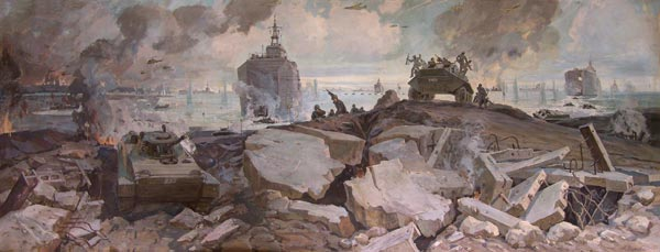 Высадка морского десанта.
