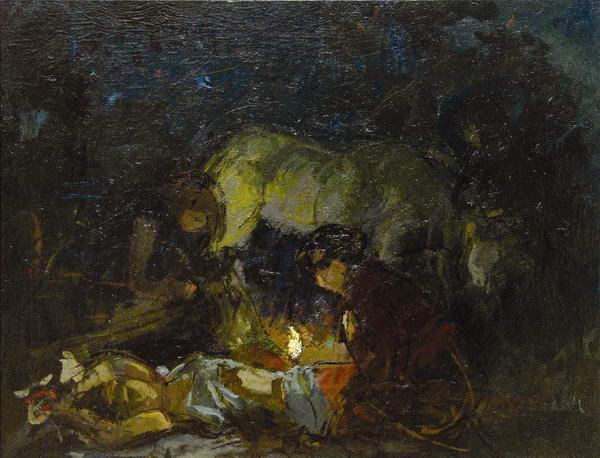 Ночное. Воспоминание о 1918 г.