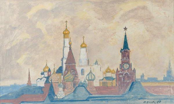 Московский Кремль. Дворцовая площадь.