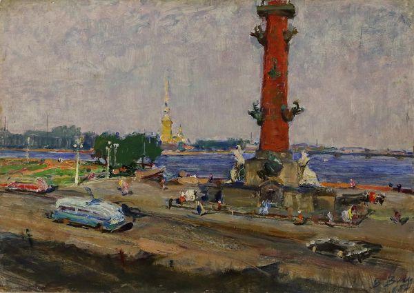 Ленинград. Летний день.