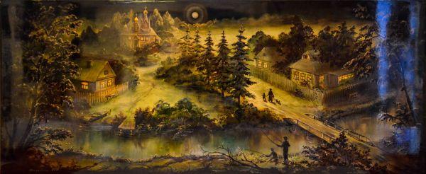 Деревня Федоскино.