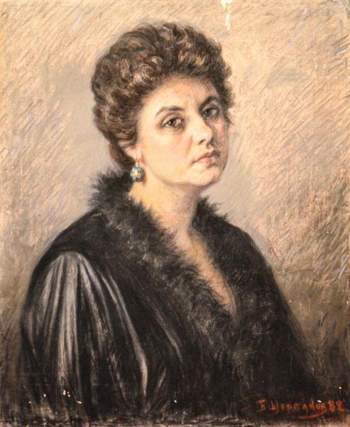 Портрет Галины Щербаковой.