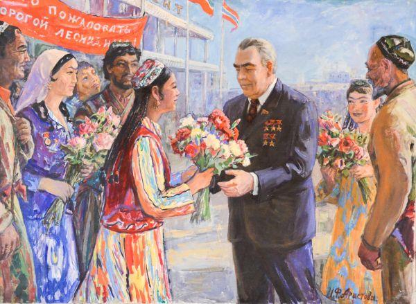 На гостеприимной Ташкентской земле.