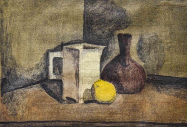 Натюрморт с лимоном.