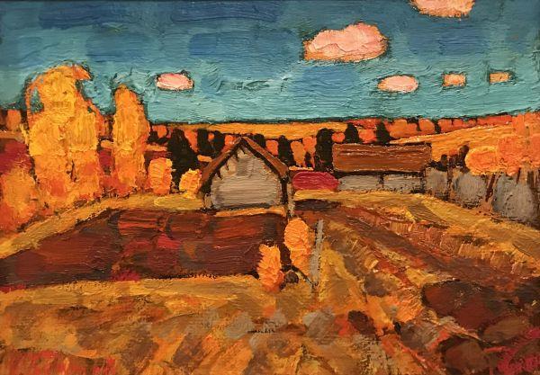 Осень в деревне.