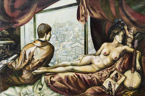 Венера и органист.