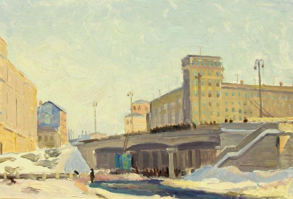 Строительство Москвы.