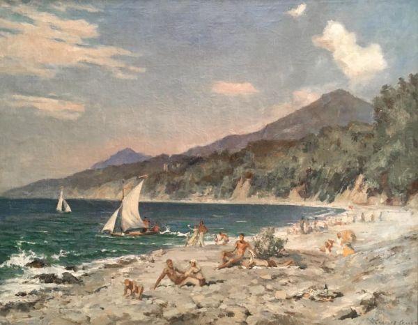 Хоста. Море.
